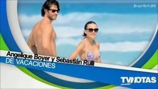 Angelique Boyer Y Sebastian Rulli Toman Un Breve Descanso De Las Grabaciones De Tres Veces Ana