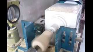 Wood Lathe Making Wood Crafts Or Small Furniture Parts