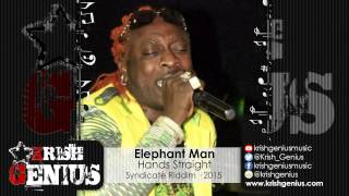 Elephant Man - Hands Straight [Syndicate Riddim] January 2015