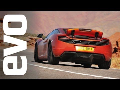McLaren 12C Morocco road trip | INSIDE evo