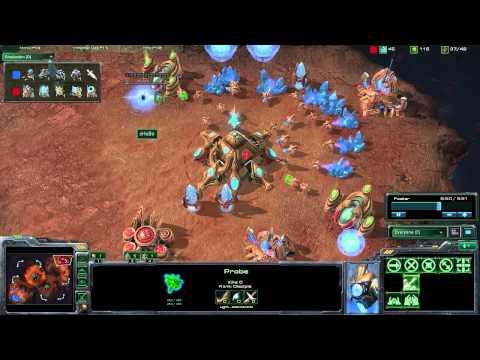 StarCraft 2 - [P] 4 Warpgate Sentry Heavy - Strategy