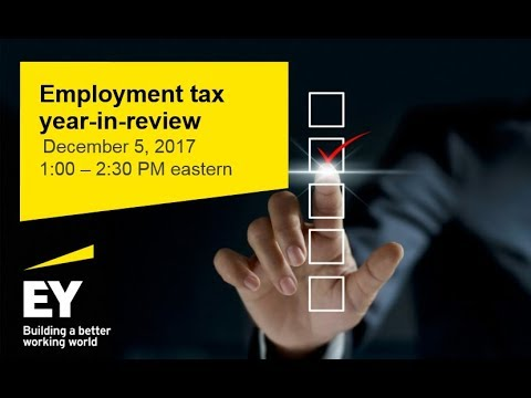 2017 employment tax year in review