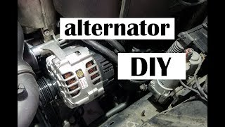 How to replace your ALTERNATOR on your BMW E46 M3.