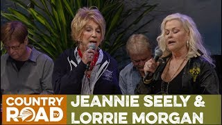 """Jeannie Seely & Lorrie Morgan sing  """"End of the World""""  on Country's Family Reunion"""