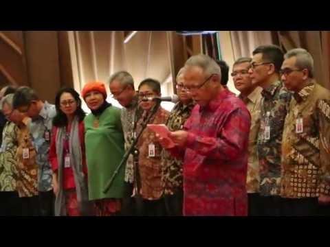Pelantikan Pejabat Eselon 2 dan 3 Kementerian PUPR