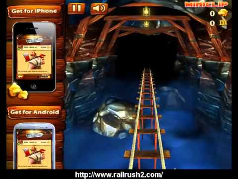 Rail Rush Video Game - Gameplay | Canplay from YouTube · Duration:  2 hours 3 minutes 42 seconds