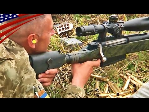 special forces snipers 50 cal rifle shooting barrett m82