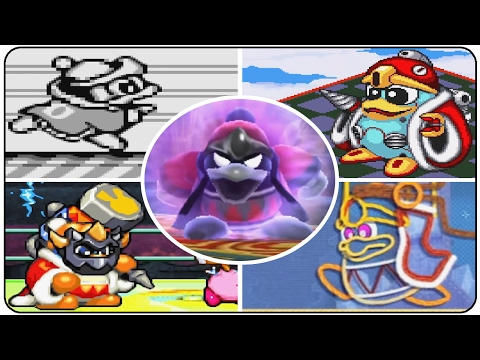Evolution of King Dedede Boss Battles in Kirby Games