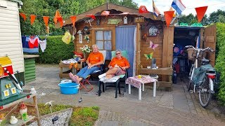 Oranjekoorts slaat toe op Camping Rotandorp Noordwolde fr.