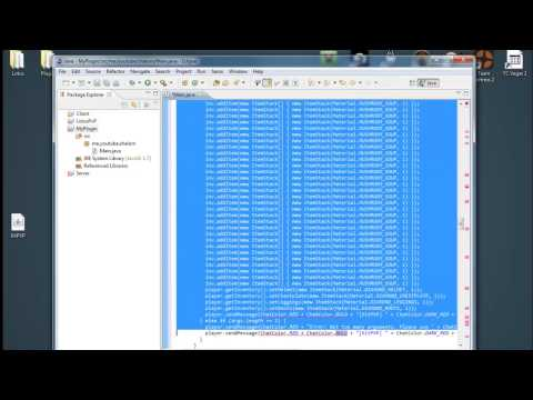 How To: Decompile Bukkit Plugins and Edit it [Shalom]