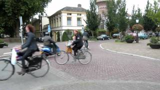 Non-stop relaxed cycling, Utrecht Netherlands
