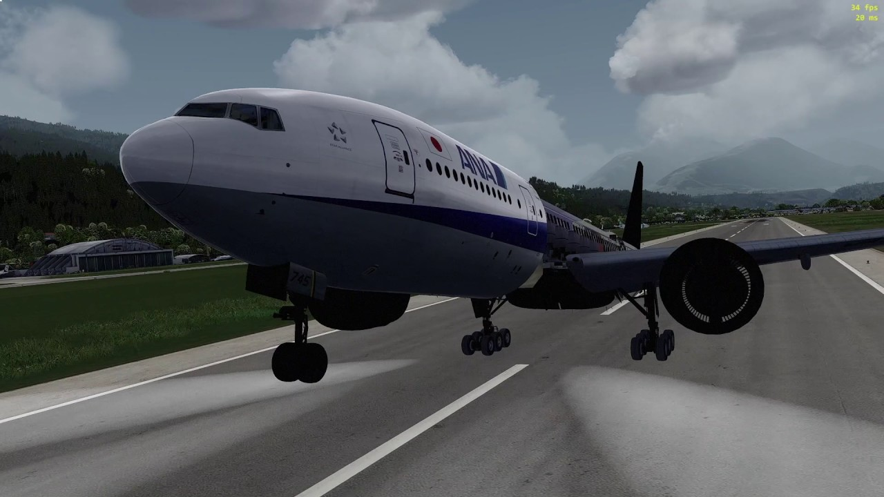 ORBX Lowi Innsbruck with Ultimate Traffic Live by Raf ParisTokyo