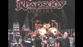 RHAPSODY OF FIRE - Holy Thunderforce - Live @ Trieste 13 agosto 2014