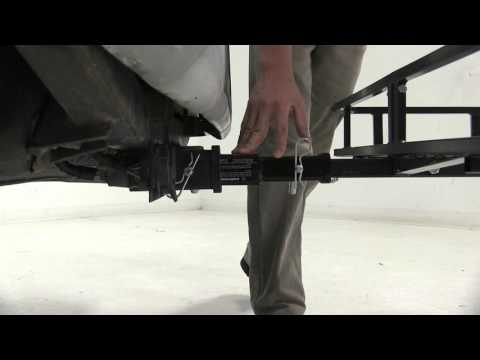 Full Demonstration of the Hidden Hitch 2 Inch to 1-1/4 Inch Hitch Adapter - etrailer.com