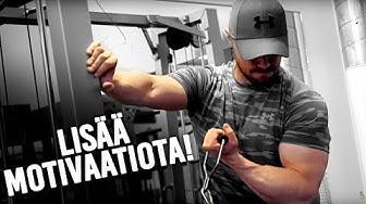 Miten löytää motivaatio treenaamiseen?