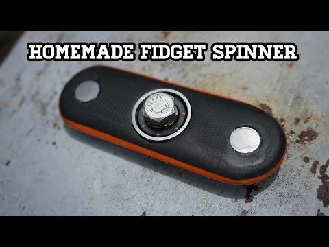 Homemade Fidget Spinner - Custom G10 Fidget spinner