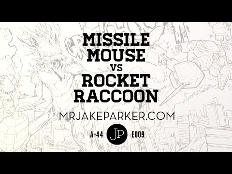 Missile Mouse vs Rocket Raccoon e009