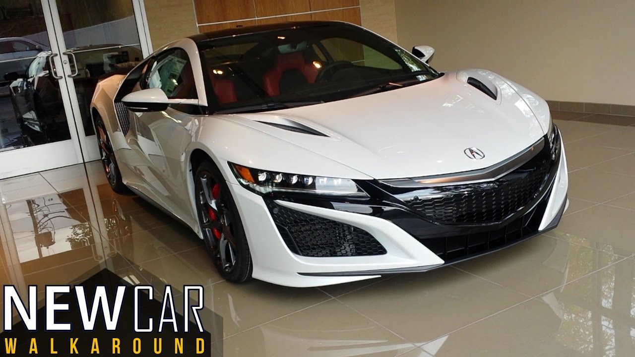 Honda New Nsx >> 2018 Acura NSX Walkaround - YouTube