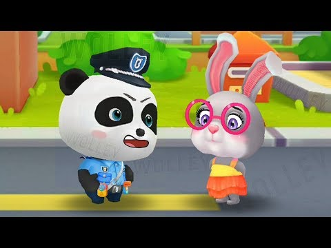 Little Baby Panda Policeman - Kids Learn Safety And Observation Skills Fun Educational BabyBus Games