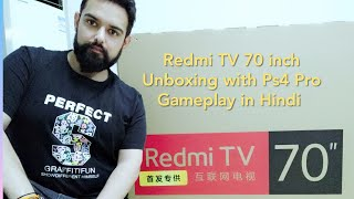 Redmi TV 70inch Unboxing by Indian in Hindi 🇮🇳