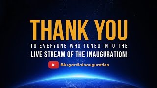 The Official Live Stream of the Inauguration of Asgardia's First Head of Nation from Hofburg Vienna