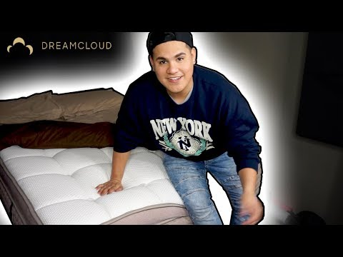 DREAMCLOUD MATTRESS UNBOXING!! | ADANWATER