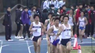 20160402 世田谷競技会男子5000m9組 PM八木君・有村君旭化成