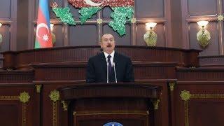 BİABIRÇILIQ - İlham Əliyev parlamentin 100 illiyində ancaq Heydər Əliyevdən danışdı