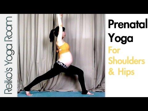 Prenatal Yoga for Shoulders & Hips