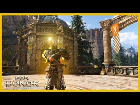 For Honor: Youtube's First Rep 60 Warden! Chill Rep 60 Duels W/Sulfuric Sparks Effect