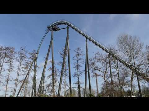 Test Kondaa 22/01/2021 - part 1 (Intamin Megacoaster) @ Walibi Belgium
