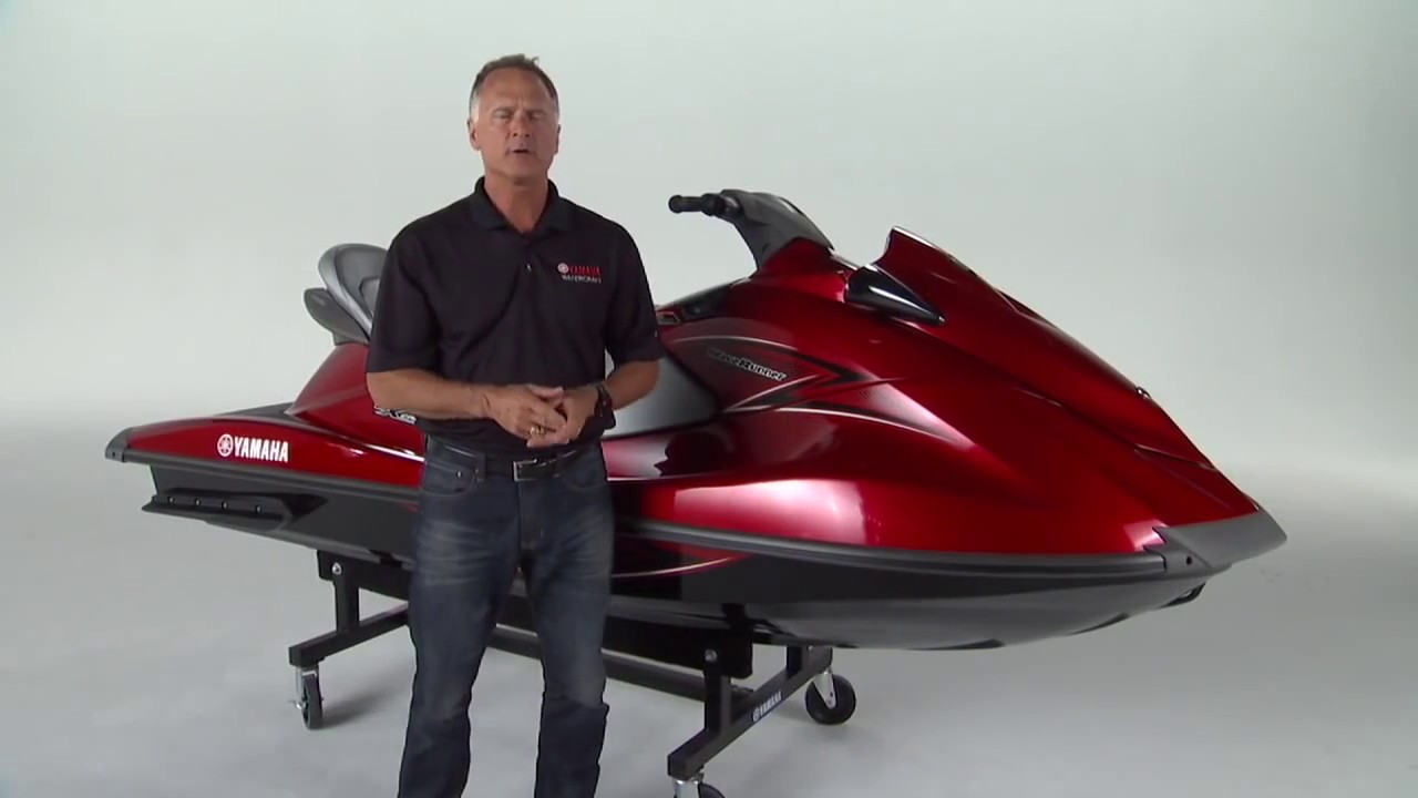 2014 Yamaha VX Cruiser Walk Through with Yamaha Product Manager Scott  Watkins