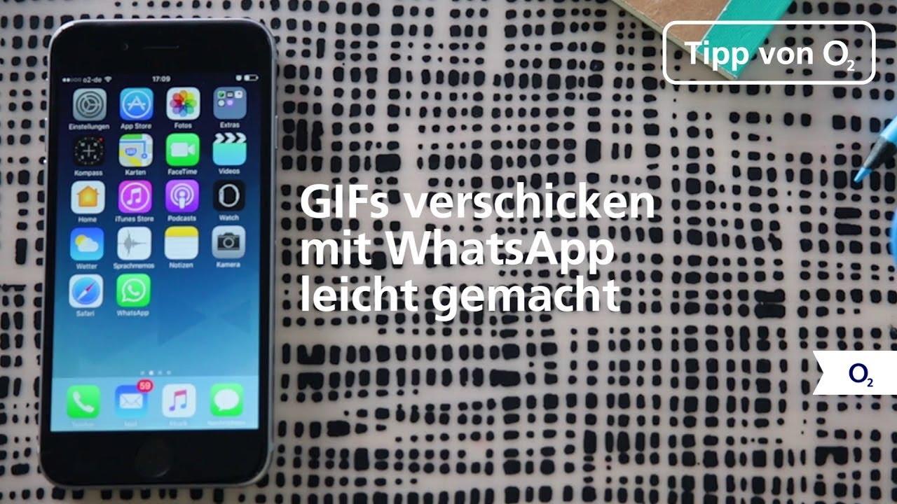 Gifs Mit Whatsapp Verschicken So Einfach Gehts Youtube