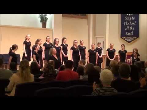 Singing at the High River united church