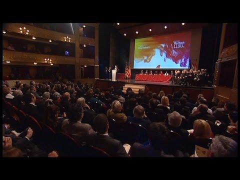 Monòleg d'en Toni Gomila als Premis Ramon Llull