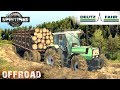 SpinTires DEUTZ-FAHR AGROSTAR 6.61 TRACTOR OFF-ROAD TEST