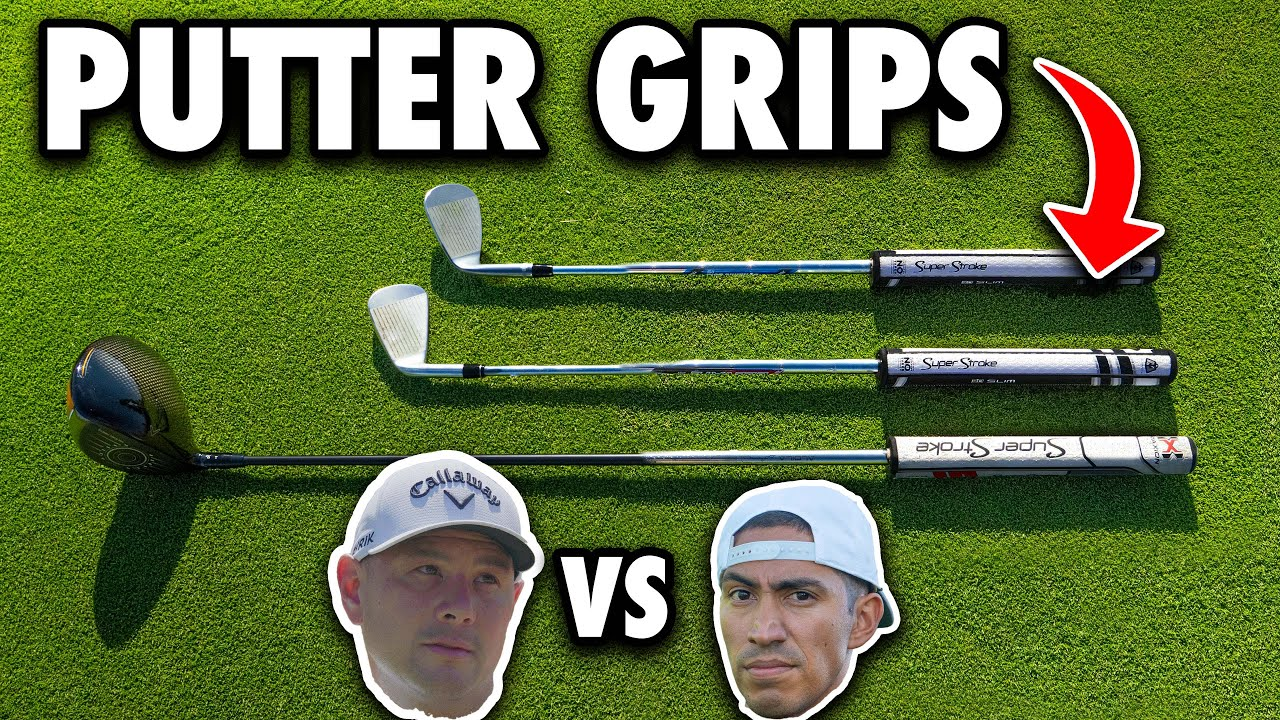 PGA Pro w/ Putter Grips Only On His Clubs vs Amateur | Mark vs Bryan | Exp Golf