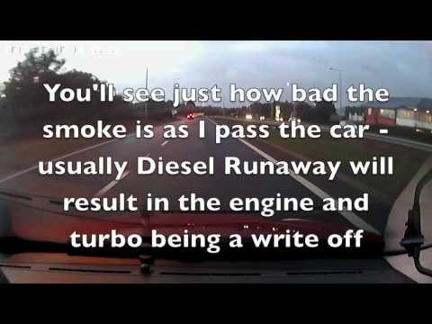 Turbo Diesel Engine Runaway - Epic Diesel Failure (Turboschaden)