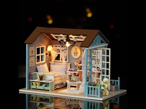 DIY DOLLHOUSE || AMERICAN RETRO STYLE DOLLHOUSE MINIATURE Part1