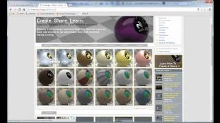 SolidWorks PhotoView 360: Download More Appearances