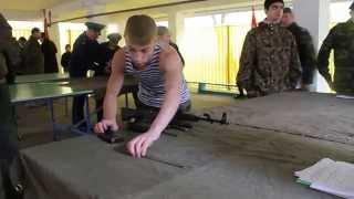 Зарница 2014 (1 - Разборка и сборка АК-74)
