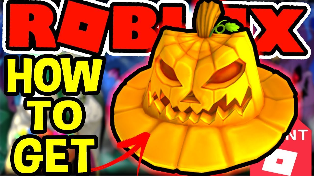 393624b3bb8b9 HOW TO GET THE PUMPKIN FEDORA IN Roblox Halloween Event 2018 - YouTube
