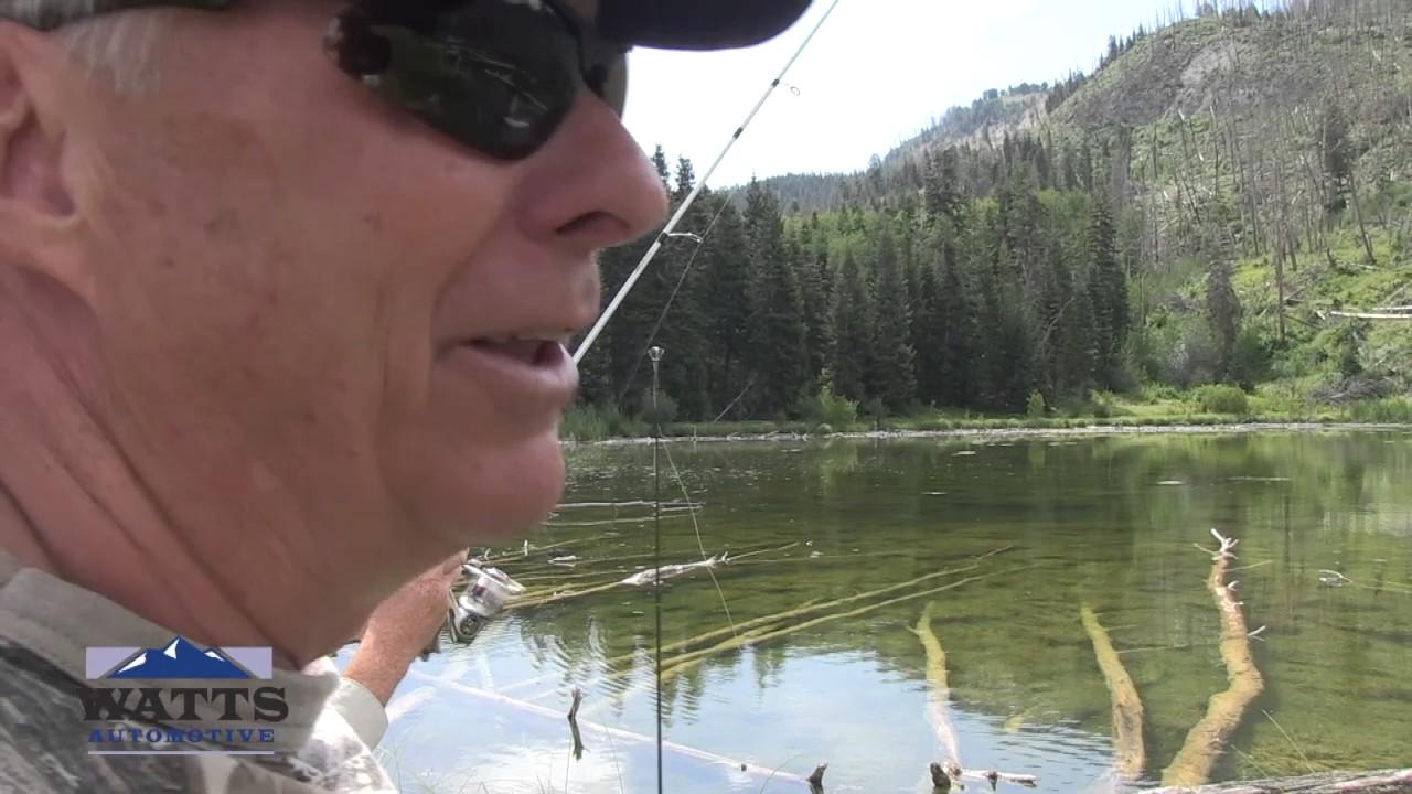 Central Utah Fishing Holes · Sanpete County Utah