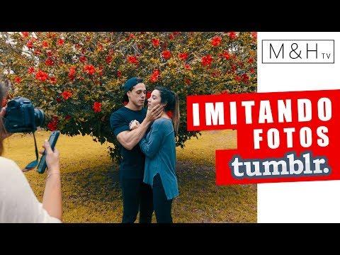 """Imitando Fotos Tumblr """"M&H"""" tv"""