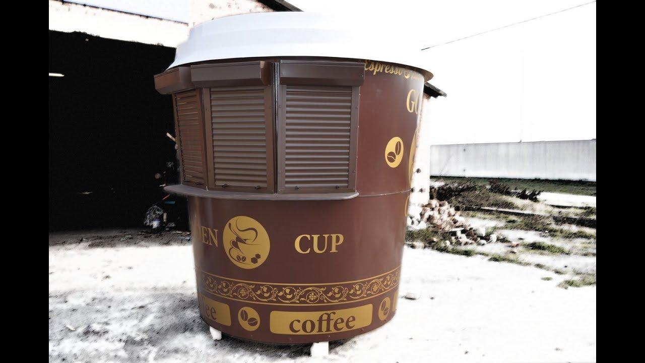 Одевание крышки на кофе стакан - YouTube