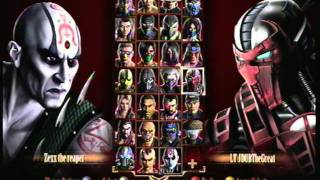 Mortal Kombat 9 Random Online Matches:Zexx The Reaper vs. LT JDUBTheGreat