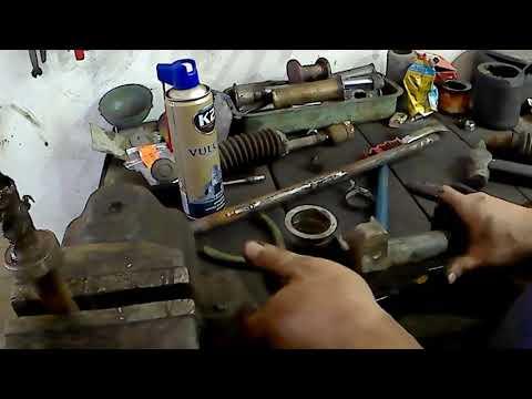 Ремонт рулевой рейки своими руками рено 19 видео