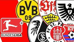 Die Schönsten / Hässlichsten Bundesliga Wappen