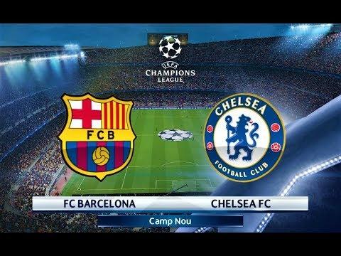 Barcelona vs Chelsea | UEFA Champions League 2018 | PES 2018 Gameplay HD