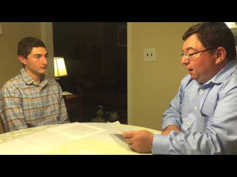 Naval architect interview - marketing project